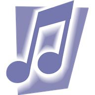 Purple music note